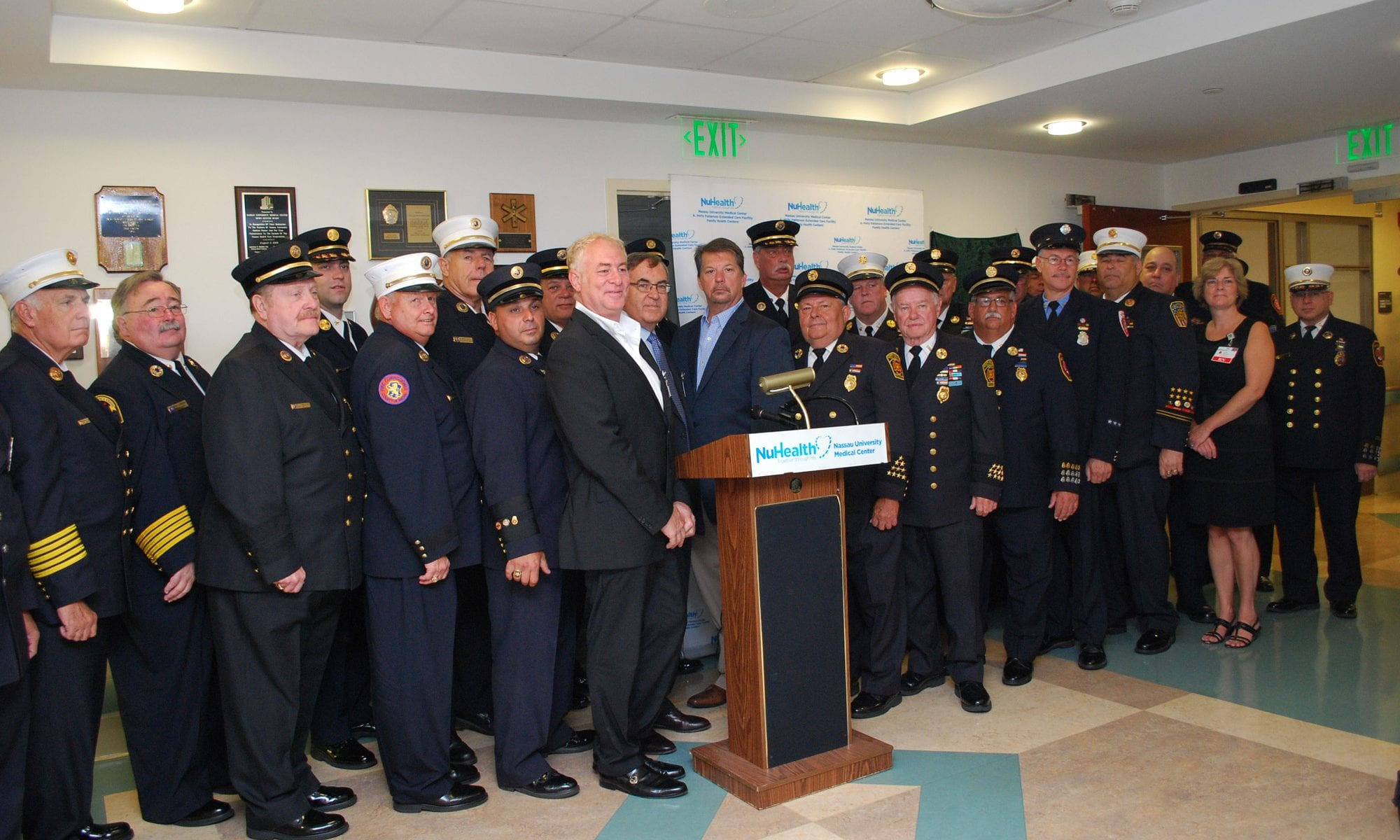 Nassau County Fire Fighters Burn Center Foundation group photo
